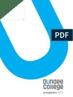 DundeeCollegeProspectus10/11