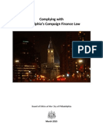 Guide to City Campaign Finance Law - March 2015