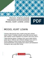 Proses Penyelidikan Tindakan Berdasarkan Model Kurt Lewin (