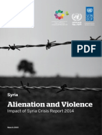 Alienation and Violence Impact of the Syria Crisis in 2014