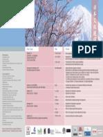Programación de La Semana Cultural Del Japón 2015