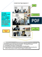 annotated comic page example