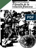 Groethuysen Bernard, La Filosofia de La Revolucion Francesa