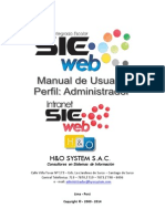 manual del administrador -sieweb