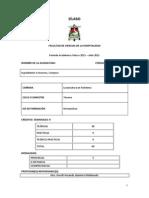 Sílabo Ingredientes e Insumos, Compras - Msc. David Quintero Maldonado