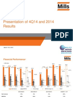 4Q14 Presentation of Results