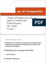 Winding-up-Of-companies Final ( 8 Slides)