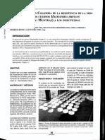 Estado actual en Colombia de la resistencia de la mosca de los cuernos Haematobia irritans (Díptera