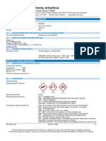 Ammonia NH3 Safety Data Sheet SDS P4562