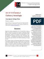 Icono14. Nº 13. Do it yourself. Cultura y tecnología.