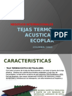 Tejas Termo-Acusticas Ecoplak
