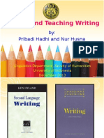 Writing and Teaching Writing