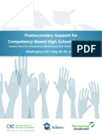 Postsecondary Support for CBP Transcripts Brief
