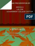 A Seminar Presentation By