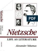 Nehamas Nietzsche Life as Literature