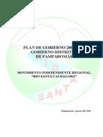 Plan Pamparomas