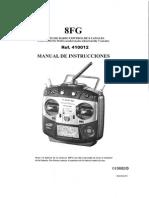 Manual Futaba 8 FG Castellano