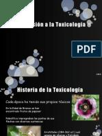 1 Historia de La Toxicología
