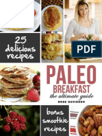 Desayuno Paleo Recetas