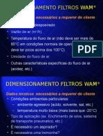 Dimensionamento de Filtros da WAN