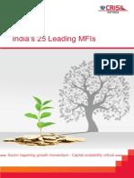 Top Microfinance Companies India 2015