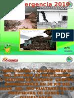 Proyecto Rio Huatanay 2015- German