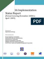 14th Status Report on EPIRA Implementation
