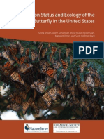 Conservation Status and Ecology of the Monarch Butterfly in the United States