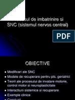 Recuperarea Geriatrica a SNC