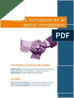 Fraude y Corrupcion en El Sector Inmobiliario
