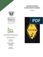 PROSHA 3114 Operacion Residuos Peligrosos