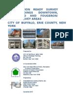Buffalo Preservation Ready Survey 2013