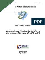 NT T2014.002 v1.01 - Manifestção Destinatário