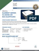 Norsat Element 2W BUC