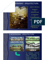 Modernismo - arquitectura