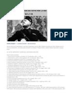 Aurelio Timpani - Le 100 Cose Fatte Da Mussolini