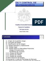 Control de Riesgos Financieros(1)