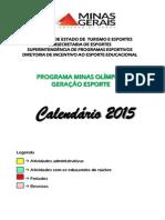 2015CalendáRio 2015 - MunicÃ-pios
