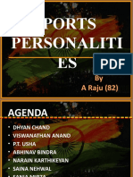 Sports Personalities in India