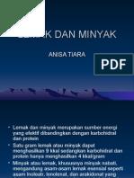 Anisa Tiara (Lemak Dan Minyak)