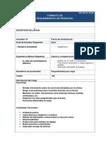 Perfil Secretaria Billingue