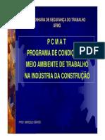 Aula de Pcmat - Mestre de obras