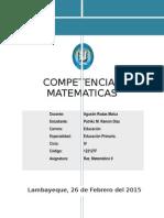 Competencias Matematicas