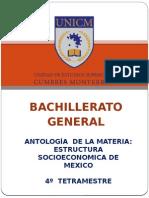Antologia Estructura Socioeconomica de Mexico