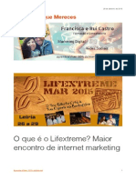 O que é o Lifextreme? Maior encontro de internet marketing