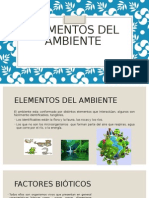 Elementos Del Ambiente