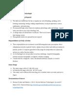 career journal nuclear medicine technician