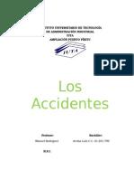 INFORME ACCIDENTES IUTA