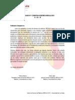 Comunicado MEDULA Académico N°1