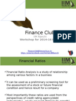 Finance Club Session 3